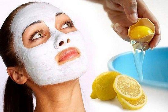 Лимонно-білкова маска живить і відновлює шкіру обличчя