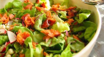 Дієтичні салати 5 рецептів із зазначенням калорійності