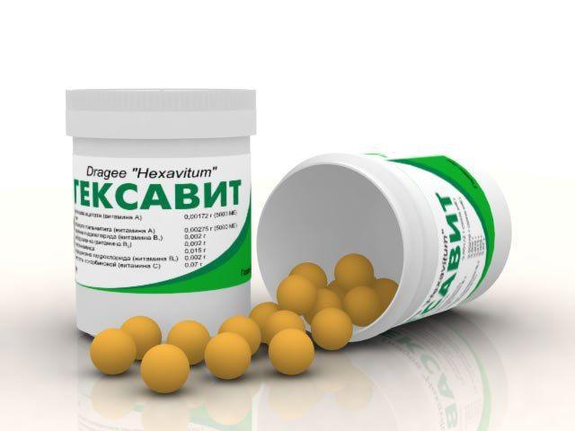 Гексавит як одне з доступних засобів проти авітамінозу