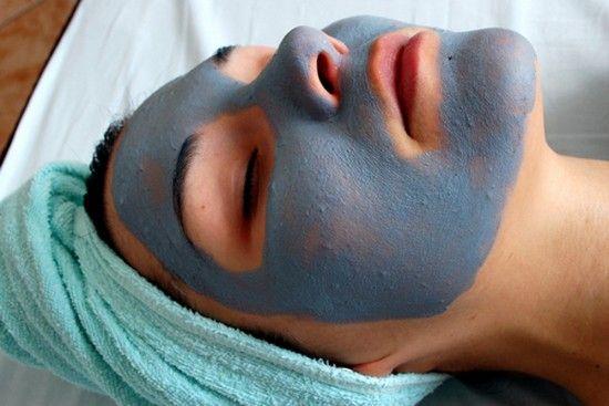 Як зробити маску з блакитної глини