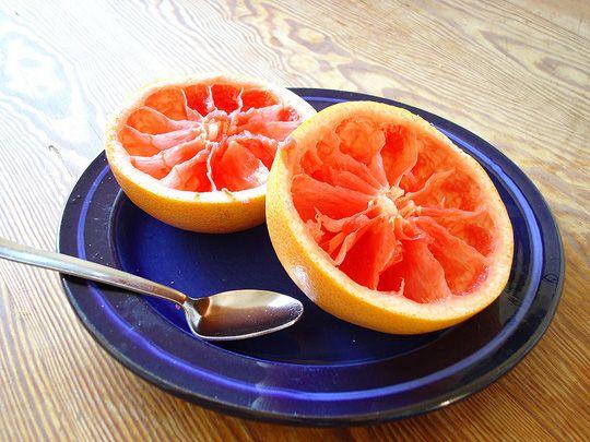 Грейпфрут для схуднення. Корисні властивості грейпфрута