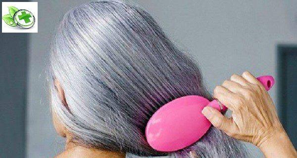 Дивовижний рецепт: попрощайтеся з сивим волоссям після використання цього засобу протягом 2 тижнів!