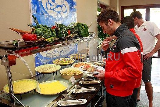 Як повинні харчуватися футболісти?