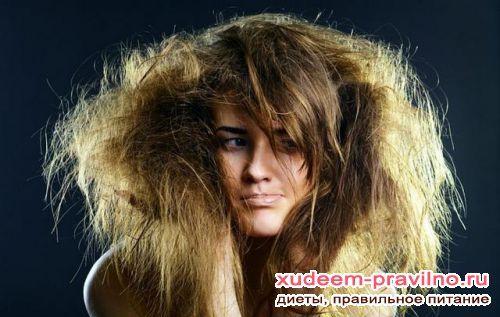 Як правильно доглядати за сухим волоссям?