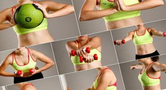 Якими вправами жінки у всьому світі прибирають жир під грудьми!