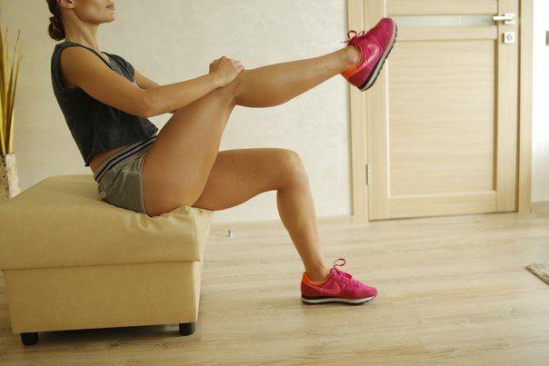 Комплекс вправ для струнких колін