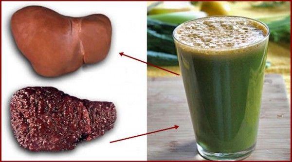 Лікування жирової дистрофії печінки з цим дивовижним натуральним напоєм!