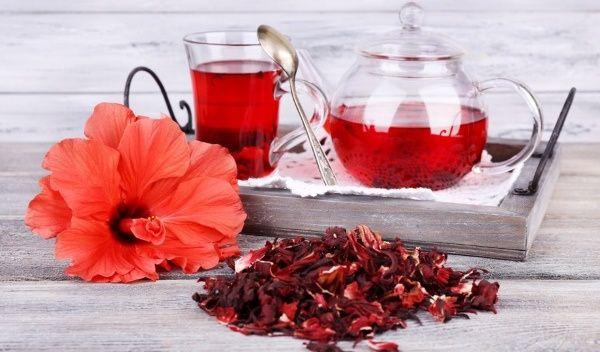 Чай каркаде при схудненні