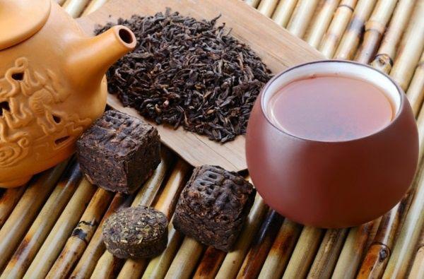Чай пуер в схудненні
