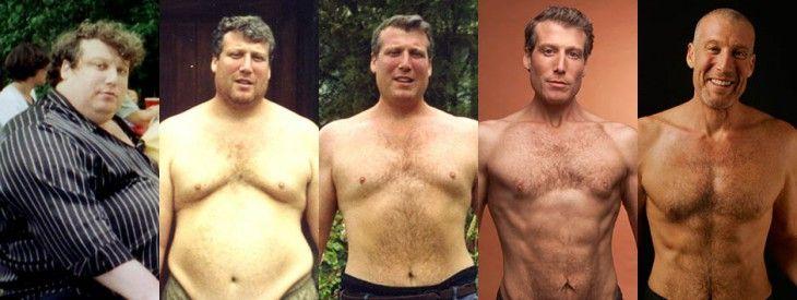 Чоловік схуд на 100 кг, дотримуючись всього 7 правил, які він вивів самостійно!