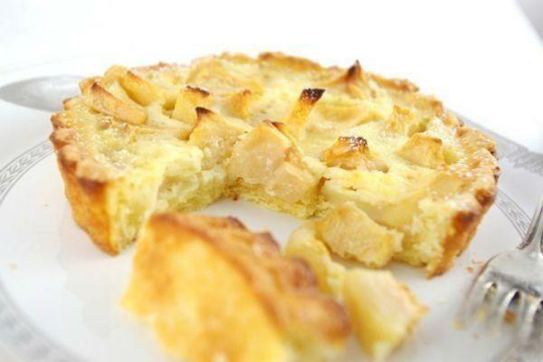 Низькокалорійний яблучний пиріг на кефірі: для тих, хто на дієті!