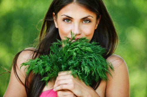 Користь зелені для організму