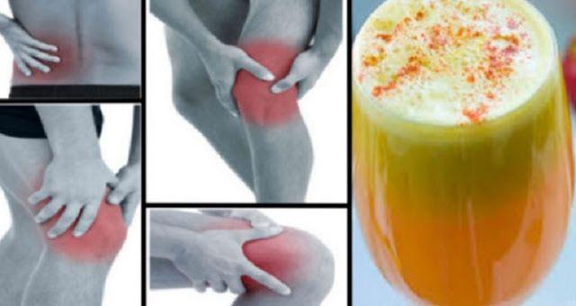 Попрощайтеся з болем у суглобах, гомілках і попереку. Це перевірений рецепт протизапальної соку!