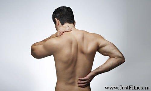 Потягнув спину, що робити і як лікувати - оглядова стаття
