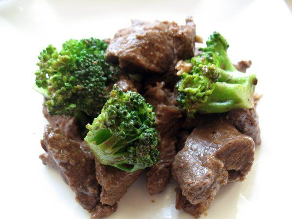Прекрасний варіант фітнес-вечері - яловичина з брокколі