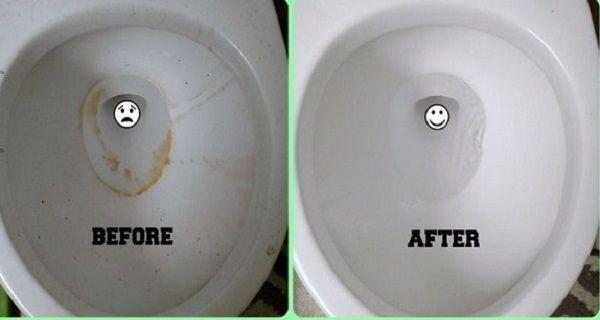 Природний рецепт з 2 інгредієнтів для блискучого туалету