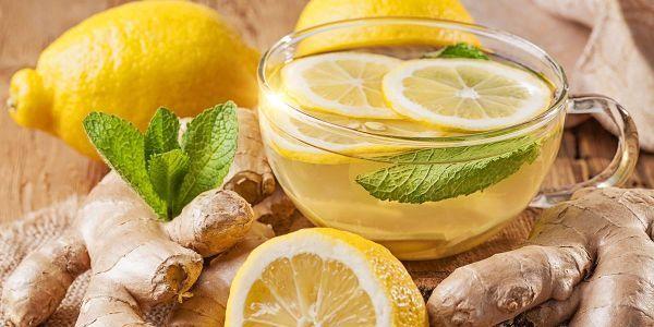Імбир з лимоном