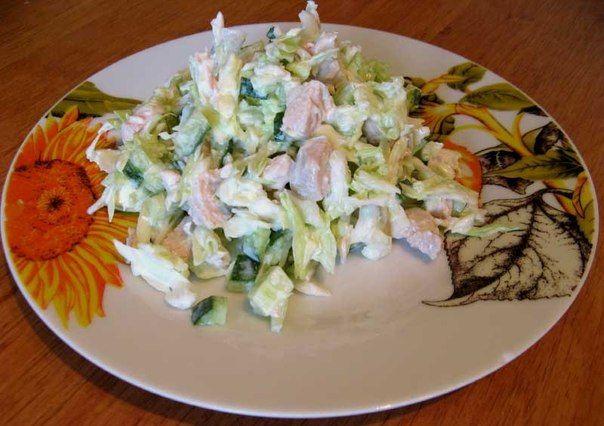 Салат для тих, хто сидить на дієті. Худнемо смачно!