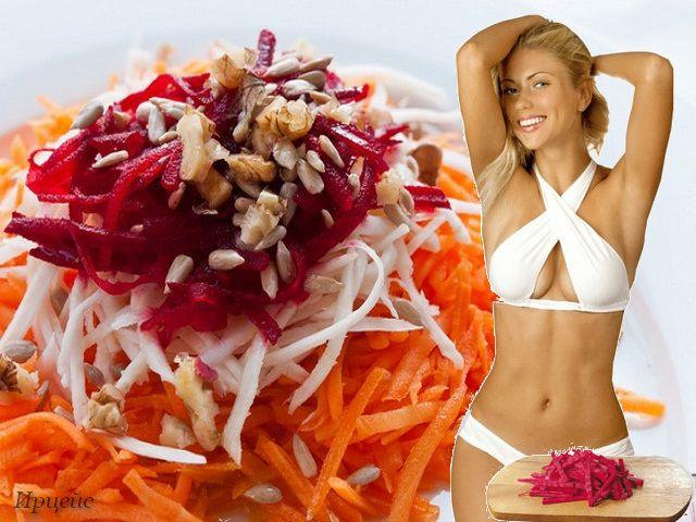 Салат щітка для схуднення: як готувати і як вживати