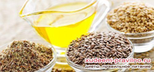 Насіння льону для схуднення користь і шкода
