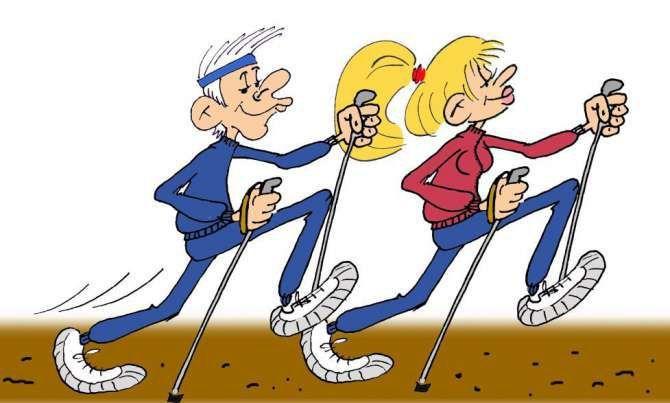 Скандинавська ходьба - поліпшить фігуру і підтягне здоров`я!