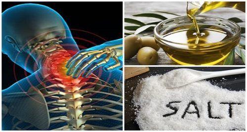Змішайте трохи солі і оливкового масла, і ви не будете відчувати біль протягом наступних 5 років