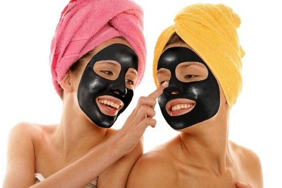 маски для обличчя з вугілля
