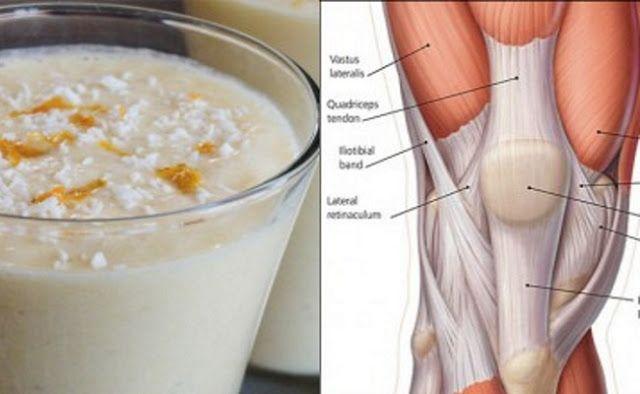 Зміцнюйте колінні суглоби і сухожилля за допомогою цього простого рецепту