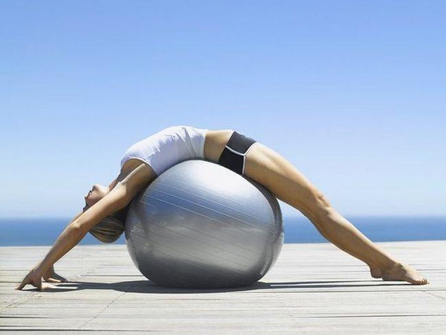 Медицина Вправи для зміцнення м`язів спини при остеохондрозі картинка