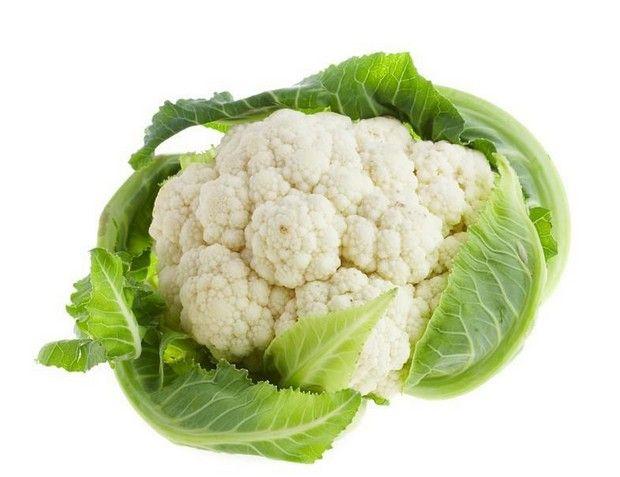 Які вітаміни містяться в цвітній капусті