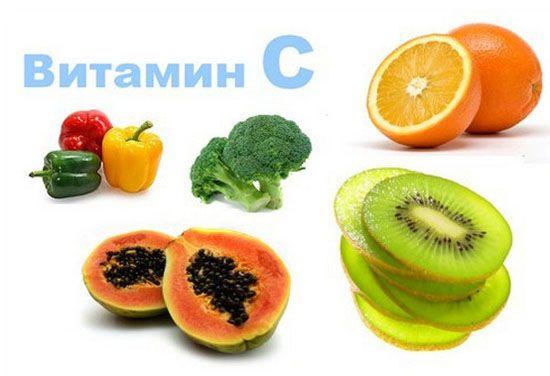 У яких фруктах є вітамін с, в яких його багато і найбільше?