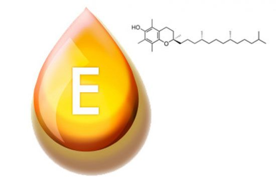 У яких продуктах вітамін е міститься в найбільших кількостях?