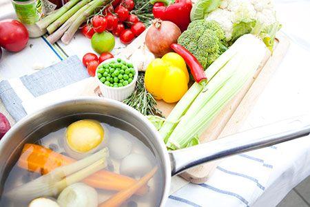 Жиросжигающее овочевий суп